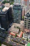 Centro edificato del Siam Immagini Stock
