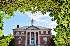 Centro educativo de Dover del estado de Delaware imagenes de archivo