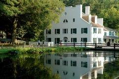 Centro em Great Falls, canal dos visitantes de C&O Imagens de Stock Royalty Free
