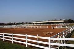 Centro equestre Fotografie Stock Libere da Diritti