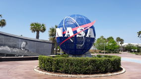 Centro Espacial Kennedy fotografia de stock royalty free