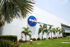 Centro Espacial Kennedy en Flordia Foto de archivo libre de regalías