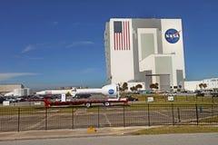 Centro Espacial Kennedy en Flordia Imagen de archivo
