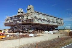 Centro Espacial Kennedy en Flordia Foto de archivo