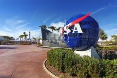 Centro Espacial Kennedy en Flordia Imagen de archivo libre de regalías