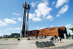 Centro europeo de la solidaridad, Gdansk Imagen de archivo