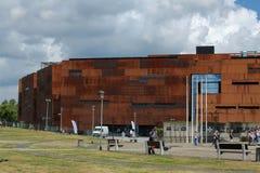 Centro europeo di solidarietà di ESC, Danzica, Polonia Fotografia Stock