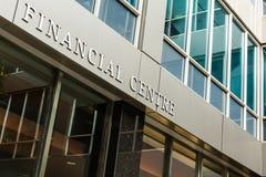 Centro financeiro Imagem de Stock Royalty Free