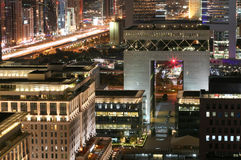 Centro financeiro de Dubai International (DIFC) Imagens de Stock
