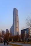 Centro financeiro de mundo de Tianjin Fotografia de Stock