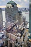 Centro financeiro de mundo - New York Fotografia de Stock Royalty Free