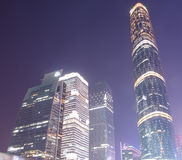 Centro financeiro internacional de Guangzhou Imagens de Stock Royalty Free