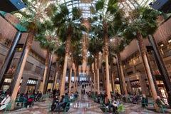 Centro financeiro New York City de mundo Fotografia de Stock