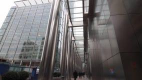 Centro financiero almacen de video