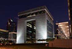 Centro financiero de Dubai (DIFC) Imágenes de archivo libres de regalías