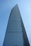 Centro financiero de mundo de Shangai Imagenes de archivo