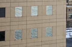 Centro financiero de mundo - New York City Fotos de archivo libres de regalías