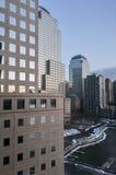 Centro financiero de mundo - New York City Imagen de archivo