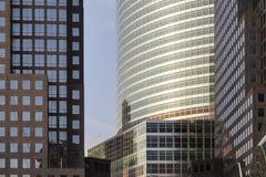 Centro financiero de mundo, Nueva York Fotos de archivo