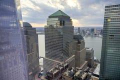 Centro financiero de mundo - Nueva York Imagen de archivo
