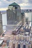 Centro financiero de mundo - Nueva York Foto de archivo