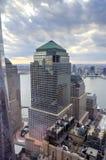 Centro financiero de mundo - Nueva York Fotografía de archivo