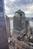 Centro financiero de mundo - Nueva York Imagen de archivo libre de regalías