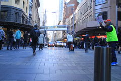 Centro financiero de Sydney fotografía de archivo libre de regalías