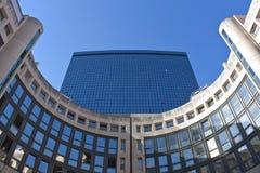 Centro finanziario Immagini Stock