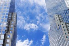Centro finanziario del mondo Fotografia Stock