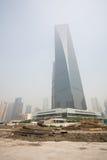 Centro finanziario del mondo di Schang-Hai Fotografia Stock
