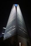Centro finanziario del mondo di Schang-Hai della costruzione Fotografia Stock Libera da Diritti