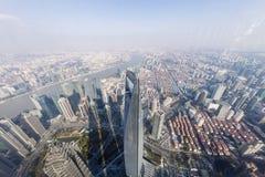 Centro finanziario del mondo di Shanghai Immagini Stock