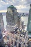 Centro finanziario del mondo - New York Immagine Stock Libera da Diritti