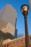 Centro finanziario New York City del mondo Fotografie Stock Libere da Diritti