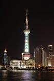 Centro finanziario Schang-Hai della Cina Fotografie Stock Libere da Diritti