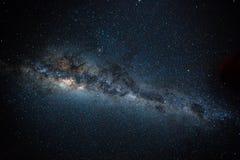 Centro galáctico - vía láctea foto de archivo