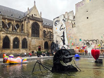 Centro Georges Pompidou Paris Fotografía de archivo