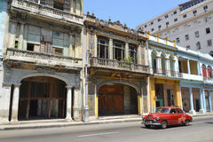 Centro Habana ulica Zdjęcia Royalty Free
