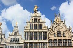 Centro histórico de Amberes, Bélgica fotografía de archivo libre de regalías