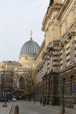 Centro histórico de Dresden (señales), Alemania Fotos de archivo libres de regalías