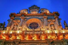 Centro histórico de Italia Lecce Fotos de archivo libres de regalías