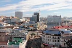 Centro histórico de la ciudad Kazan, Rusia fotos de archivo libres de regalías