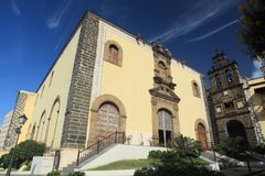 Centro histórico de La Orotava Imagen de archivo libre de regalías