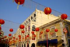 Centro histórico de Macao Fotografía de archivo