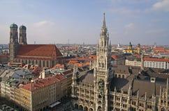 Centro histórico de Munich Foto de Stock