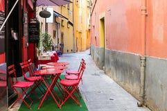 Centro histórico de Niza Fotos de archivo