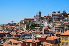 Centro histórico de Oporto, Portugal Imagen de archivo