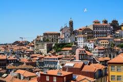 Centro histórico de Porto, Portugal Imagem de Stock