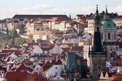 Centro histórico de Praga Foto de archivo